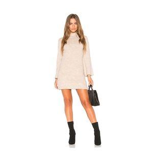 Bardot Tash Sweater Dress in Oatmeal